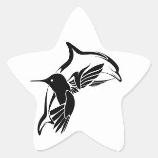 Peacefulness Star Sticker