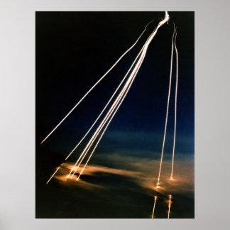 Peacekeeper Intercontinental Ballistic Missiles Poster