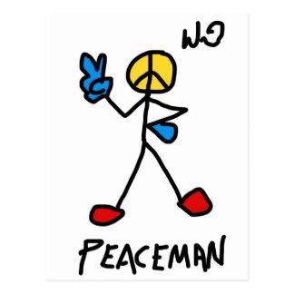 peaceman.jpg postcard