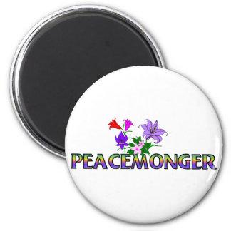 Peacemonger 6 Cm Round Magnet