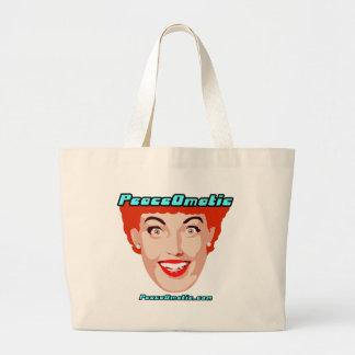 PeaceOmatic World peace Tote Bags