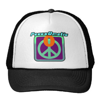 PeaceOmatic World peace Trucker Hat