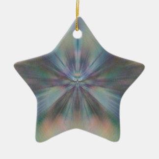 Peacful Convergence Ceramic Star Decoration