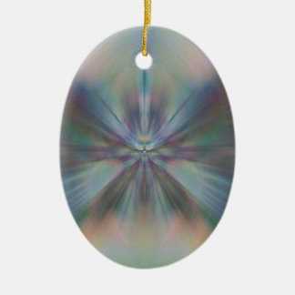 Peacful Convergence Christmas Ornament