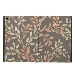 Peach and Tan Foliage iPad Air Case