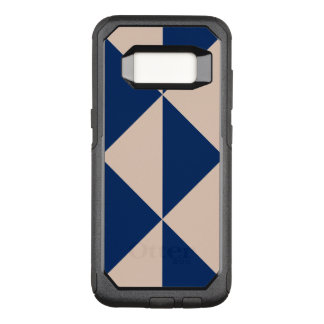 Peach Arrow Changeable Navy Blue Background Color OtterBox Commuter Samsung Galaxy S8 Case