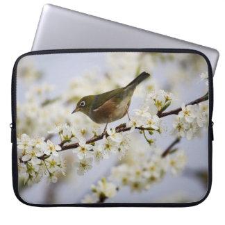 Peach Blossom Art Print Laptop Sleeve