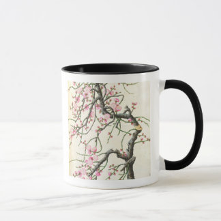 Peach blossom (colour on paper) mug