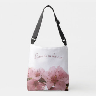 Peach blossom. crossbody bag