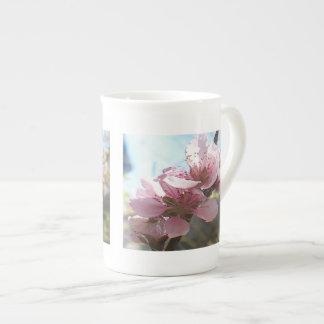 Peach Blossoms Bone China Mug