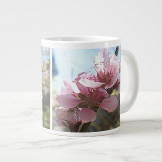 Peach Blossoms Jumbo Mug