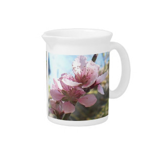 Peach Blossoms Pitcher