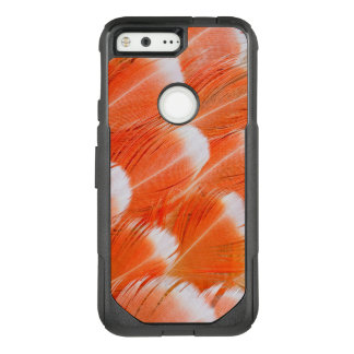Peach Colored Cocatoo Feathers OtterBox Commuter Google Pixel Case
