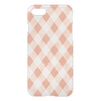 Peach Cream Harlequins Clearly™ Deflector Case