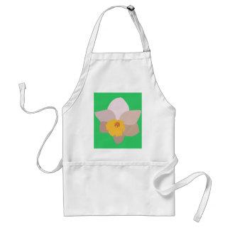 Peach Daffodil Apron