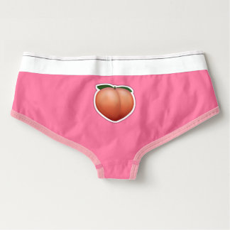 Peach Emoji American Apparel Cotton Spandex Briefs