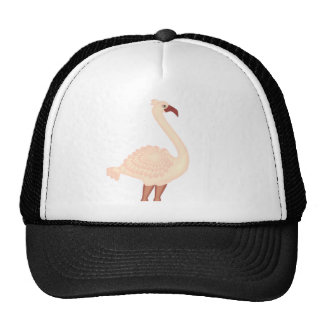 Peach Flamingo Cap