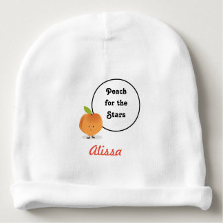 Peach for the Stars | Baby Beanie