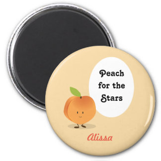 Peach for the Stars | Magnet