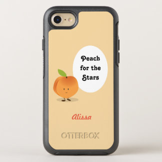 Peach for the Stars | OtterBox Symmetry iPhone 8/7 Case