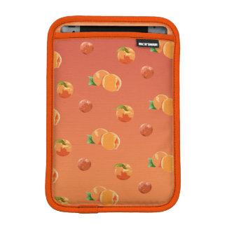 Peach Fruit Pattern Ipad Mini Sleeve