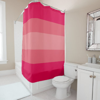 Peach Gradient Shower Curtain
