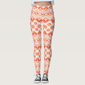 Peach Lace Leggings