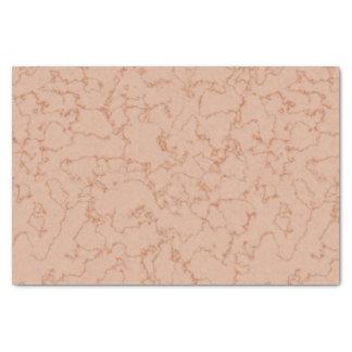 Peach Marble Tissue Paper