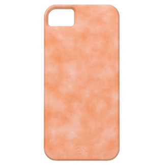 Peach Marbleized Case For The iPhone 5