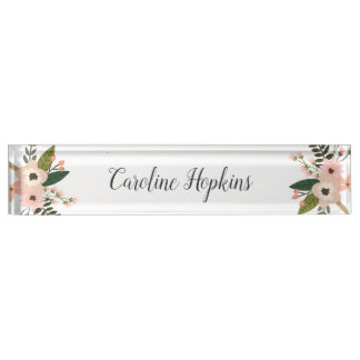 Peach Meadow Name Plate