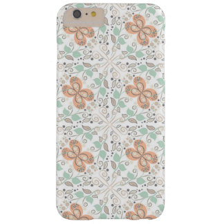 Peach & Mint Whimsical floral case for iPhone 6/6s