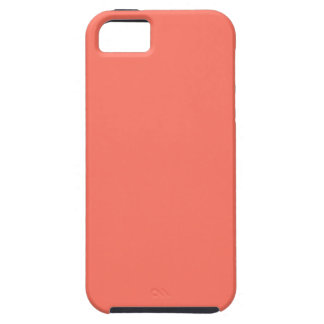 Peach Nectarine Pink Color Trend Blank Template iPhone 5 Cover