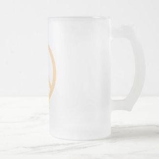 Peach Peace & Ribbon Mug