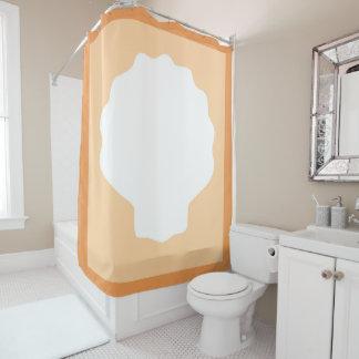 Peach Pearl Shower Curtain