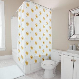 Peach Petal Shower Curtain