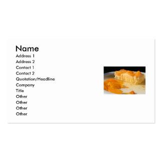 Peach Pie Business Card