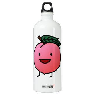 Peach Pink Happy Smiling Design Bro SIGG Traveller 1.0L Water Bottle