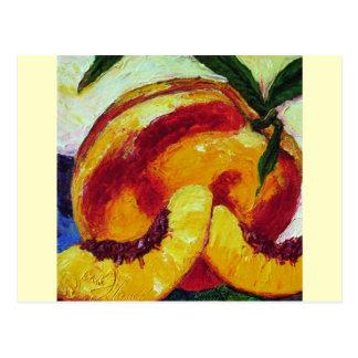Peach Postcard