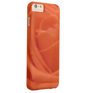 Peach Rose Folds Photo Image Barely There iPhone 6 Plus Case