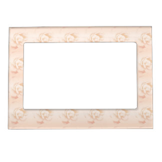 Peach Rose Magnetic Picture Frame