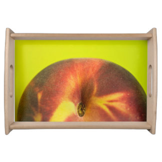 Peach Serving Tray