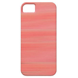 Peach Streaks Barely There iPhone 5 Case
