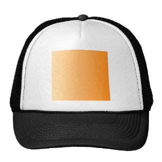 Peach to Orange Vertical Gradient Mesh Hat