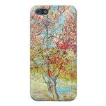 Peach Tree in Bloom at Arles, Van Gogh iPhone 5 Case