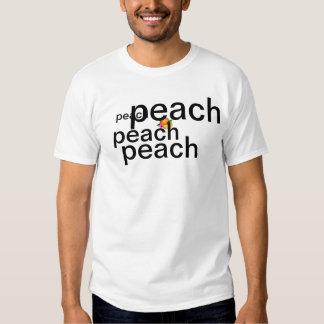 peach tshirt