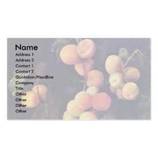 Peach Twig By Flegel Georg Business Card