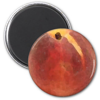 Peach Watercolor - Magnet