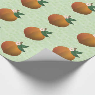 Peach Wrapping Paper
