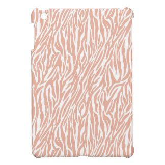 Peach Zebra Print Case For The iPad Mini