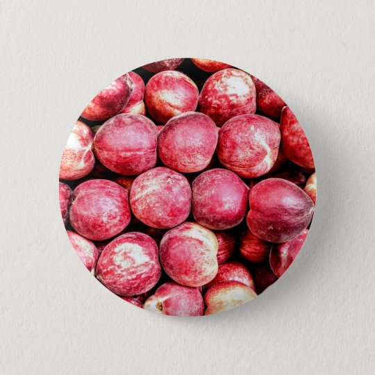 Peaches 6 Cm Round Badge
